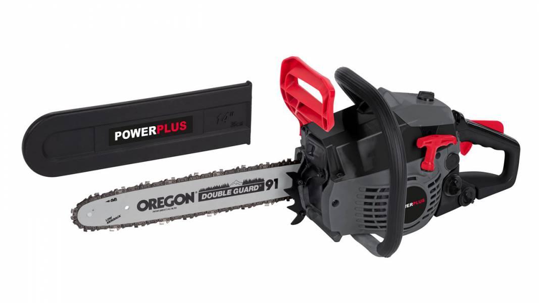 Kettsaag PowerPlus E 37,2cm3